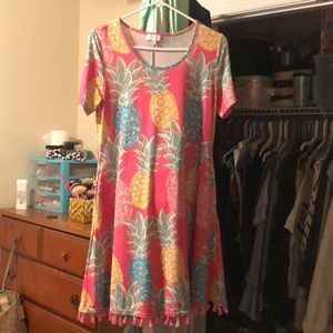 Simply Southern Pineapple Dress